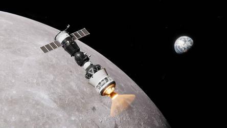 Lunar Soyuz by brickmack