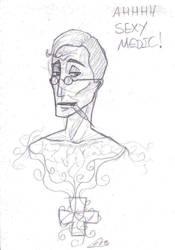 Medic pencil by LuluRIllustration