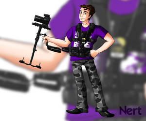 Nert, Cameraman Extrodinaire by LuluRIllustration