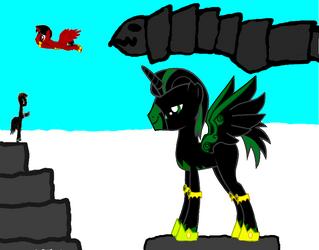 Loki the god of mischief pony by sora2424