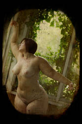 Lady in the Atrium by StellaDean