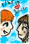 Ron and Hermione by Narcissa24601