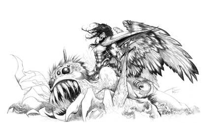 Battle Cry by Razielssecret