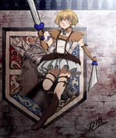 Magical Girl Armin by thelastmushroom