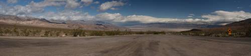 Entering Death Valley by dpierce1313