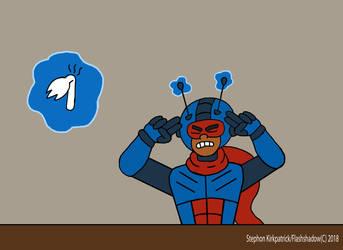 Guarizer vs A Spork...(?) by Flashshadow