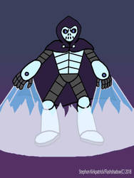 Inktober Day 14: Cryogenic Criminal - Dr. Skulldor by Flashshadow