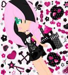 Emo Shy Human by mlpgirl89