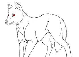 Dog base by Midnightflaze