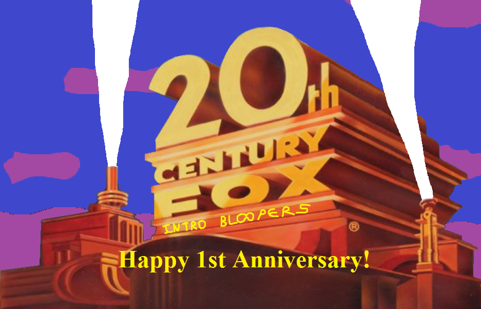 20th Century Fox Intro Bloopers 1st Anniversary By