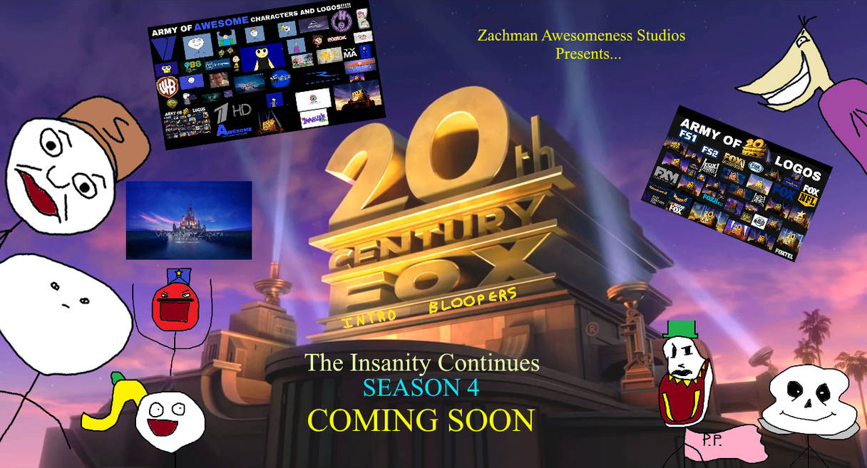 20th Century Fox Intro Bloopers Season 4 Promo By