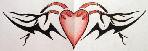 Heart Tribal by TheRealSlimPickins