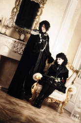 Malice Mizer: Mana and Klaha by Alvi