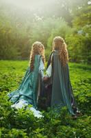 Silmarillion: The golden sunset by Alvi