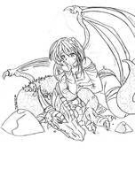 dormiendo con el enemigo xD by tenshi01