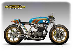 HONDA CB 750  GLITTER BOY Cafe Racer by obiboi
