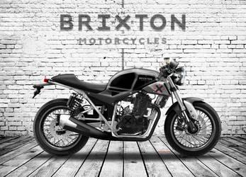 BRIXTON BX 444 CAFE' RACER by obiboi