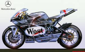 MERCEDES-BENZ MotoGP by obiboi