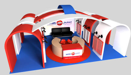 Stand Distrel Meuble by x-engin