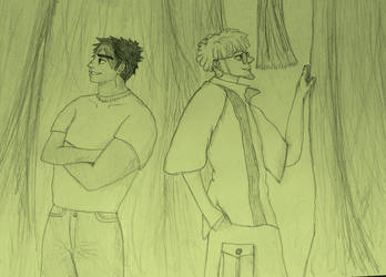 TJ and Amal Fanart by mizukitiger