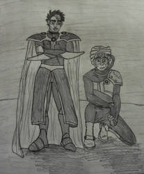 TJ and Amal MKR Cosplay by mizukitiger