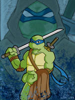 TMNT 2007 Leonardo by L4Dragon