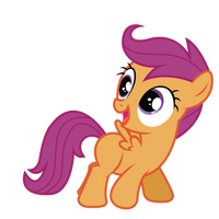 Generic Scootaloo by RainbowDerp98