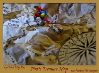 100 Points Contest AKA Pirate Treasure Map by MayEbony