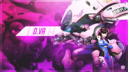 D.Va Wallpaper by DavidMellado