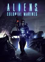 Aliens Colonial Marine 2013 by FrancoFerrari