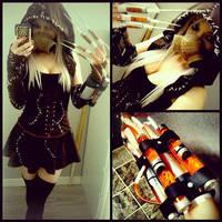 Arkam Asylum Fem Scarecrow Cosplay by KayKittenCosplay