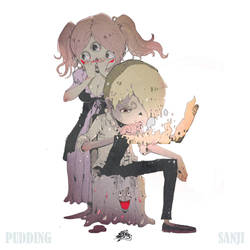 sanji x pudding by DemonG3