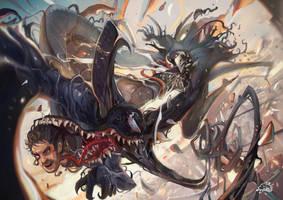 Venom vs Riot by DemonG3