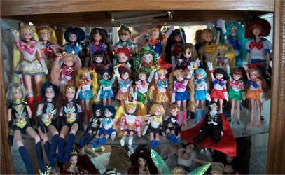 Sailor Moon Doll Collection by Sealynn