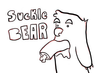 Suckle Bear by dharness