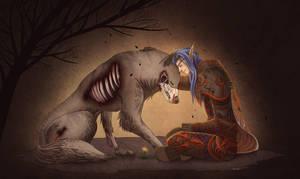 Kaiden and Draygan by Kurtssingh