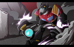 Battle Ready Optimus by Shioji-san