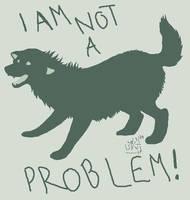 I Am Not A Problem by SummonerWolf