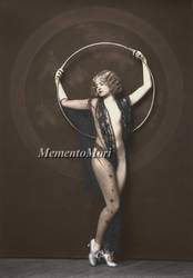 Unknown Ziegfeld girl III by M3ment0M0ri