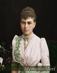 Princess May of  Teck, 1890. by M3ment0M0ri