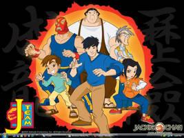 Jackie Chan Adventures Desktop by xXPikaPrincessXx