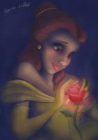 Belle Painting by Bambi-Killer