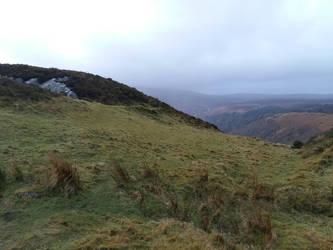 Foggy hillsF15 by moonrosy
