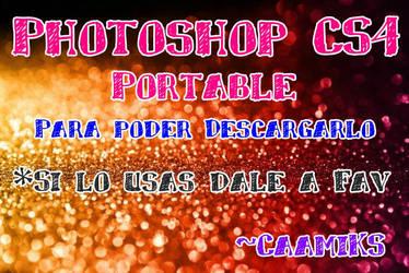 Photoshop CS4 Portable. by CaamiKS