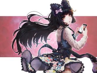 .:Contest Entry:. Mystic Heroine by RimaPichi
