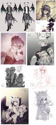Instagram Doodles by RimaPichi
