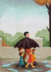 Umbrella Man by esmagenc