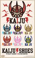 Kaiju Shoes by ExoesqueletoDV