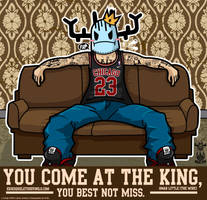 You come at the king, you best not miss by ExoesqueletoDV
