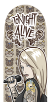 Cats n' Jenna - Tonight Alive by ExoesqueletoDV